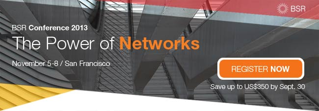 BSR Conference: The Power of Networks